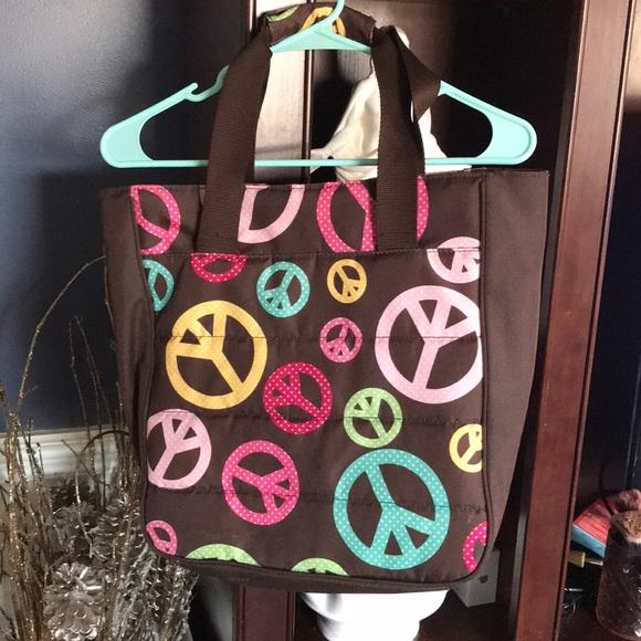 Peace Tie Dye Weekender Bag